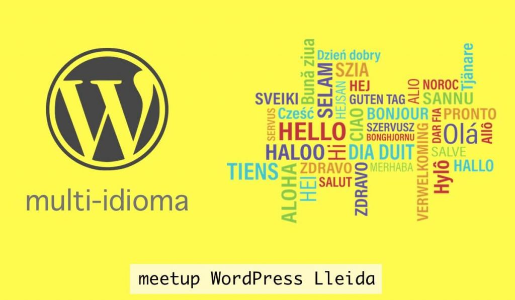 WordPress Lleida multi-idioma meetup novembre