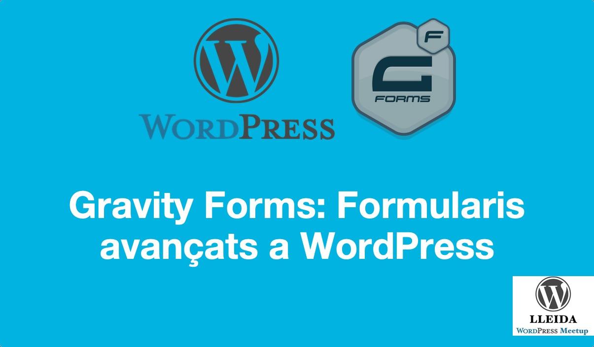 Gravity Forms: formularis avançats a WordPress